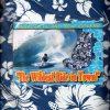 funda asiento coche hawaiana azul