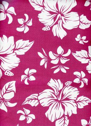 funda asiento coche hawaiana rosa