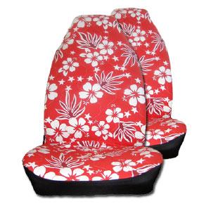 fundas-asiento-coche-hawaianas-roja