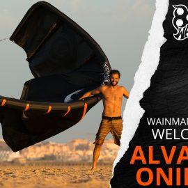 kites Wainman con Alvaro Onieva y Sportlink Tarifa