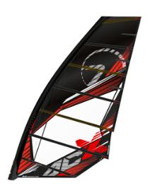 Point-7 AC-X 2017 vela windsurf 0-cambers