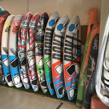 Nuevas tablas de windsurf Tabou Boards 2018 en Sportlink.es