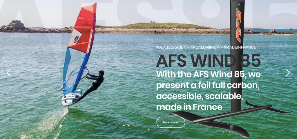 Windsurf foil