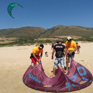 kite lessons in tarifa sportlink
