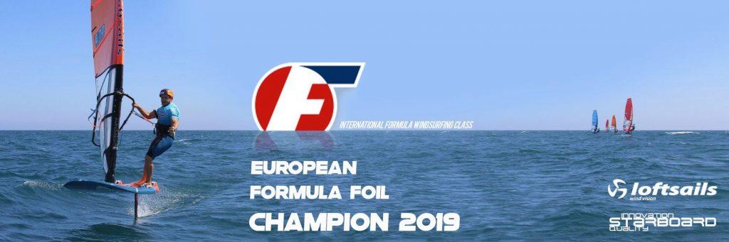 Ramon Pastor E-72 Campeón de Europa de Formula Foil Windsurfing 2019