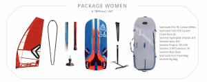 iQFoil Olimpic package (Women)
