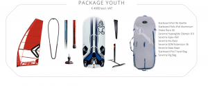iQFoil Olimpic package (youth)
