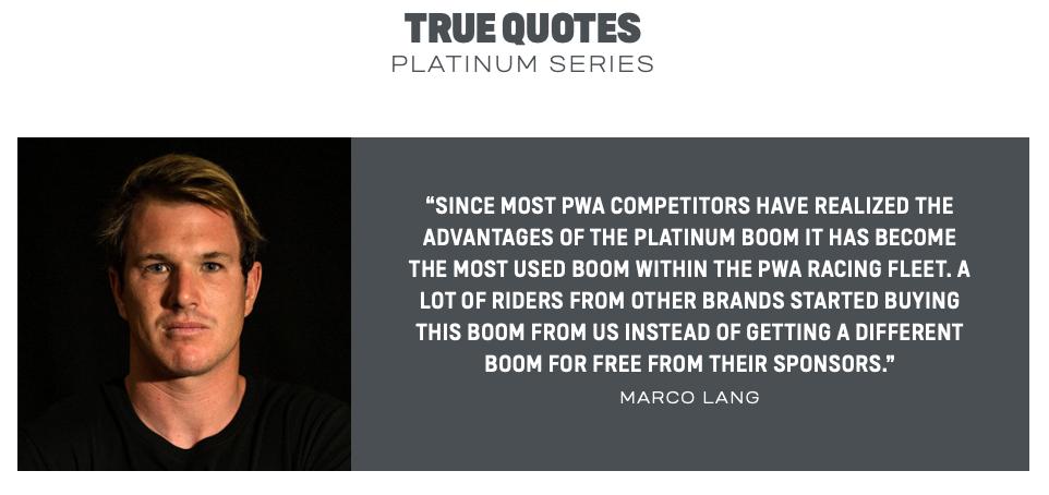 Duotone Boom Platinum Series