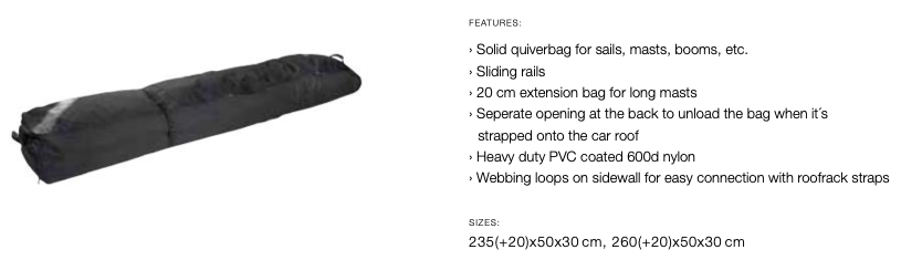 ION Quiverbag 260-280