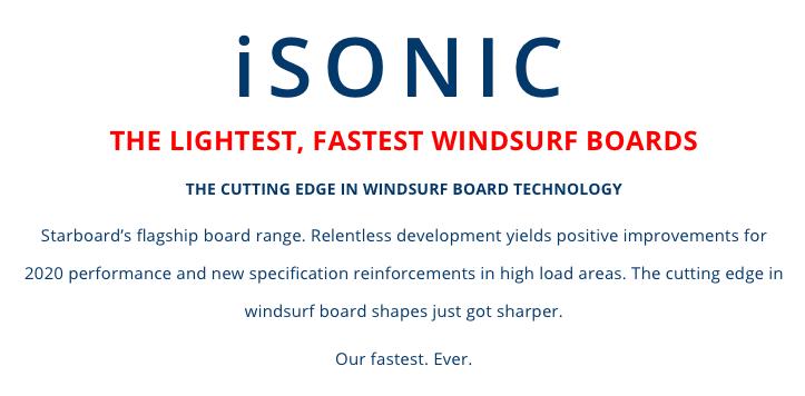 Starboard Isonic Carbon Reflex 2020