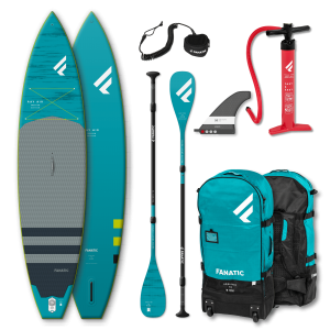 Pack tabla + remo Fanatic iSUP Ray Air Premium 13,6""