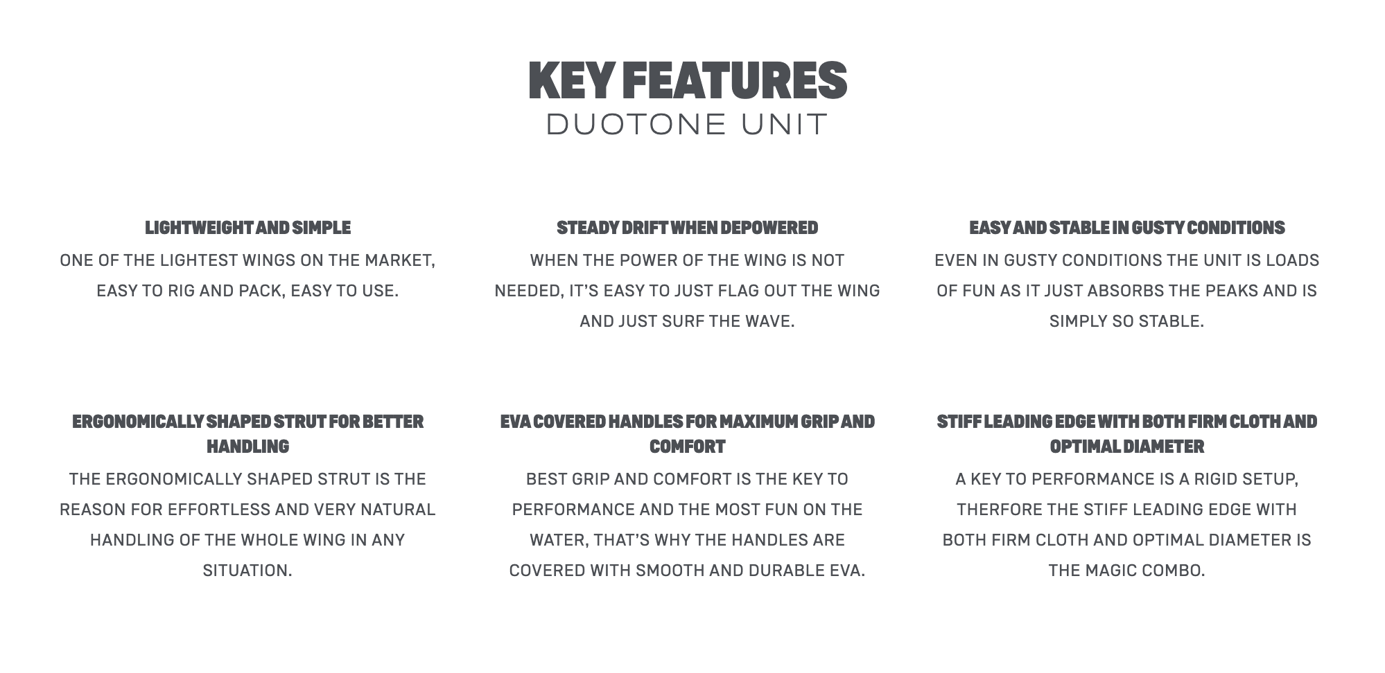 Duotone wing foil Unit 2020/21