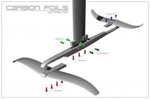Starboard Foil Screw Torx 6mm