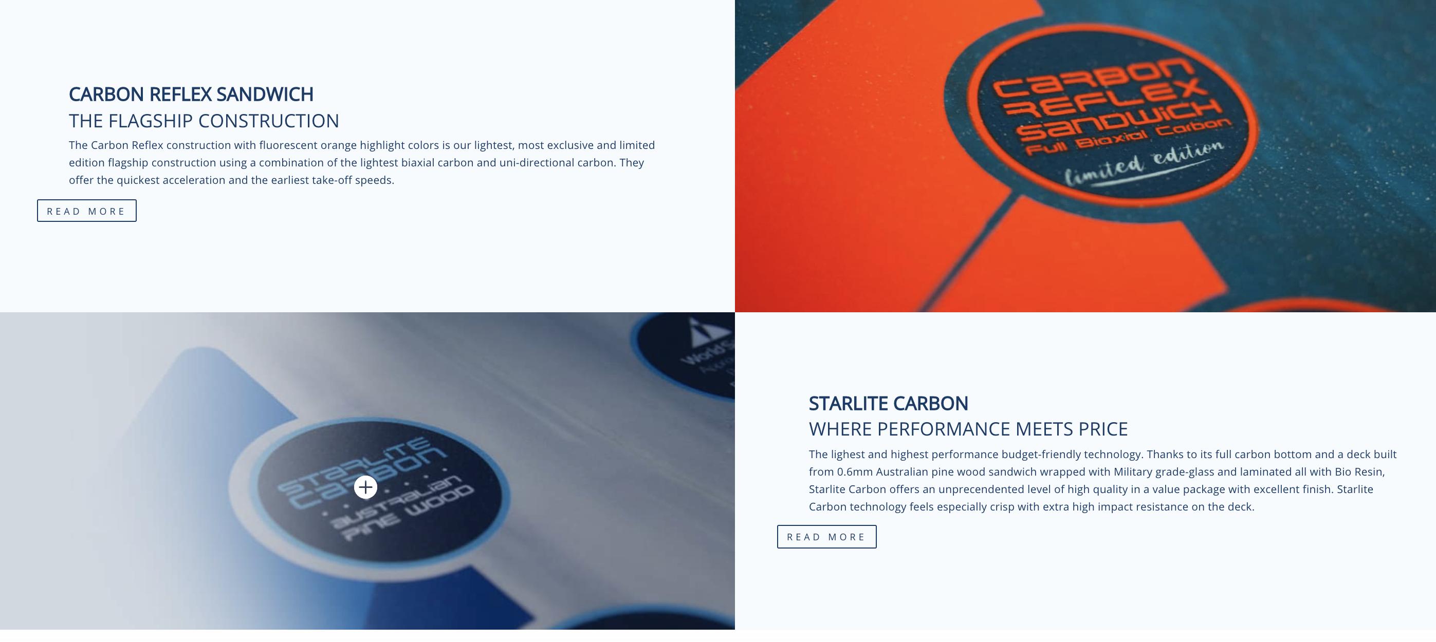 STARBOARD FOIL SLALOM Carbon Reflex 2021