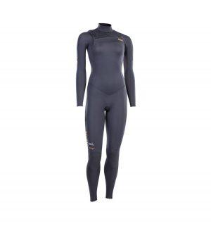 ION Wetsuit Amaze Core Semidry 4/3 Steel Gray