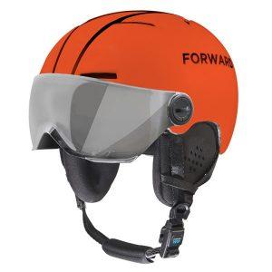 FORWARD-WIP X-OVER VISOR HELMET