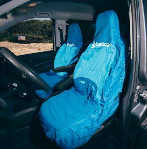 Surflogic Car Seat Cover Single Cyan